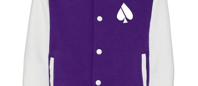 Varsity blues, purples, pinks, reds and more from ACE-FASH