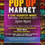 Ace Of Jacks Radio at The Village Pop up Market: 25th March 2017