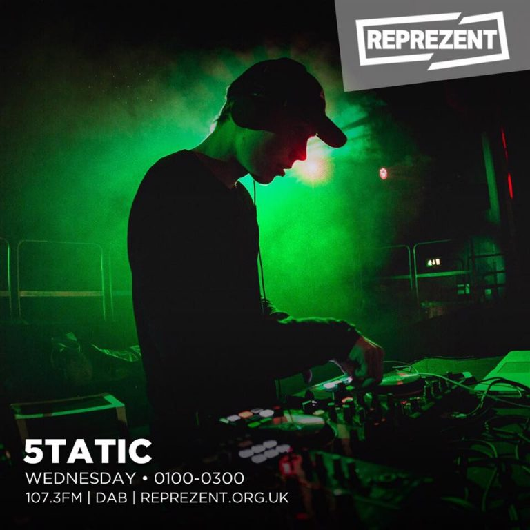 5TATIC now on Reprezent Radio!