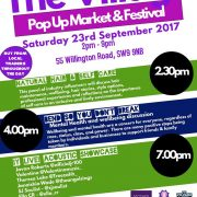 The Village PopUp Market & Festival – Sept 2017