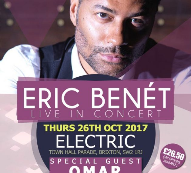 Eric Bonet LIVE in Concert TOMORROW!!!!