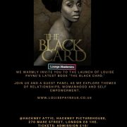 Louise Payne's – The Black Card Book Launch