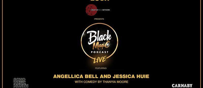 Don't miss the #blackmagicpodcast live at Lush Studio Soho at 6.30pm!