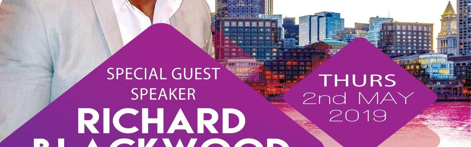 Networth & Vibe: 2nd May 2019 featuring Richard Blackwood