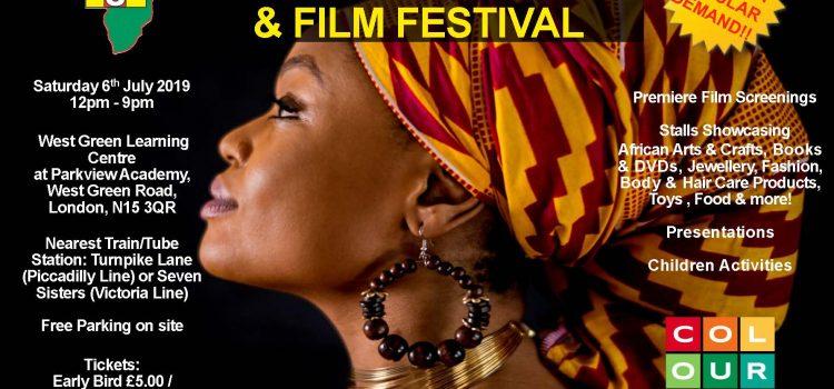 AOJ back at the Black Market & Film Festival: 6th July 2019