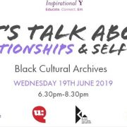 Let's talk about relationships and selfcare: June 2019