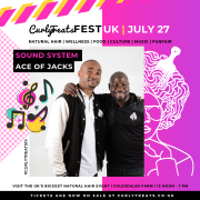 Ace Of Jacks Entertainments & Media confirmed at the Curly Treats Festival 2019