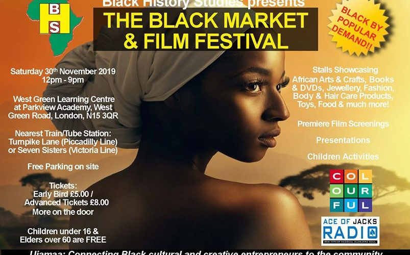 AOJ back at the Black Market & Film Festival: 30th November 2019