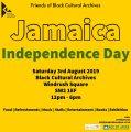 Inspirational U & AOJ celebrate Jamaican Independence at the BCA