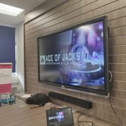 AOJ Entertainments & Media back at Logic Studio School, Feltham