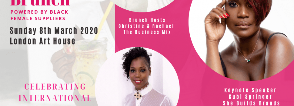 The official line up for the BLACK WOMEN IN BUSINESS BRUNCH tomorrow!